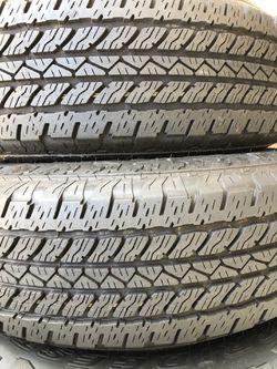 (2) Bridgestone Dueler  245/75/17 year 2021 Thumbnail
