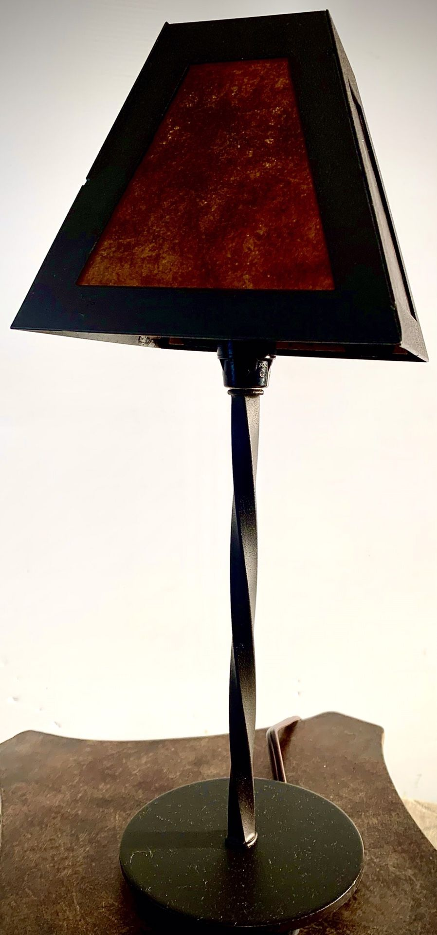Small Decorative reading table lamp H15xW6 inch Lbs 1.9
