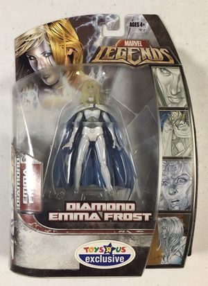 Photo MISB Marvel Legends Diamond Emma Frost Action Figure Toys R Us Exclusive