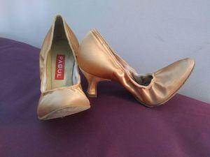 Standard / smooth ballroom dance shoes like new for Sale in Salt Lake City, UT