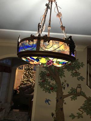 Fruit chandelier lamp Like Ballard, pottery barn, crate and barrel for Sale in Oakton, VA