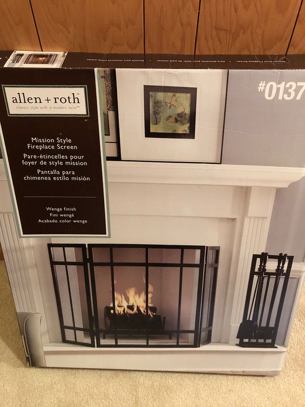 Allen Roth Fireplace Screen Fireplace Gate For Sale In