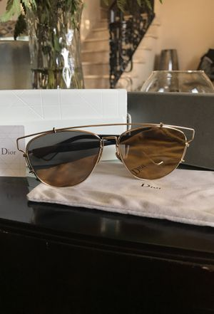 104f088d11 Sunglasses DIOR TECHNOLOGIC RHL83 gold for Sale in Chula Vista
