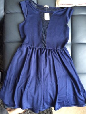 Navy lace skater dress for Sale in Tampa, FL
