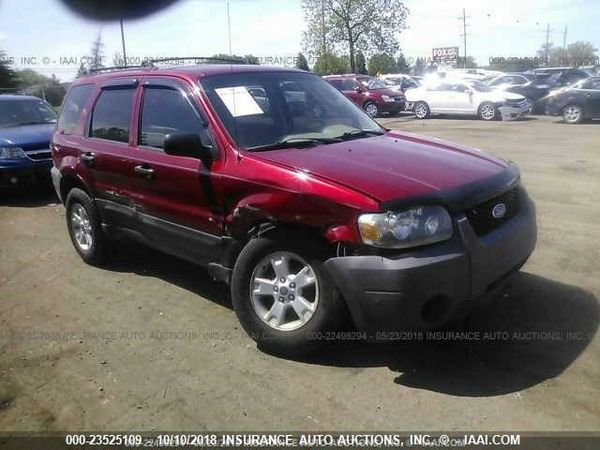 2005 ford escape v6