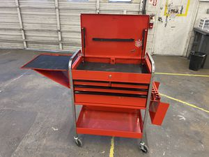 Photo Blue point tool cart