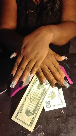 15$ Acrylic Nails Special Any Size any Style Civic Center & Cheyenne, used for sale  US