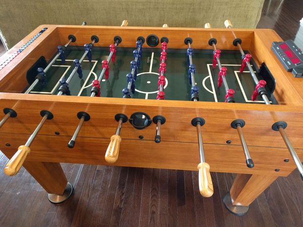 Amazing Harvard Foosball Table With Electronic Scoring Excellent Condition For Sale In Lithopolis Oh Offerup Download Free Architecture Designs Remcamadebymaigaardcom