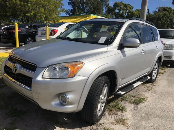 TOYOTA RAV4 HARDTOP 2011 LIMITED 107K MILES IN LEATHER PUSH START SUNROOF  $1,500 DOWN PAYMENT NO CREDIT NO PROBLEM WE FINANCE IN HOUSE for Sale in