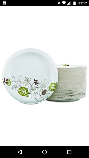 """Dixie® Ultra Paper Plates, 10 1/8"""" Diameter, Pathways Design, Pack Of 125 for Sale in West McLean, VA"""