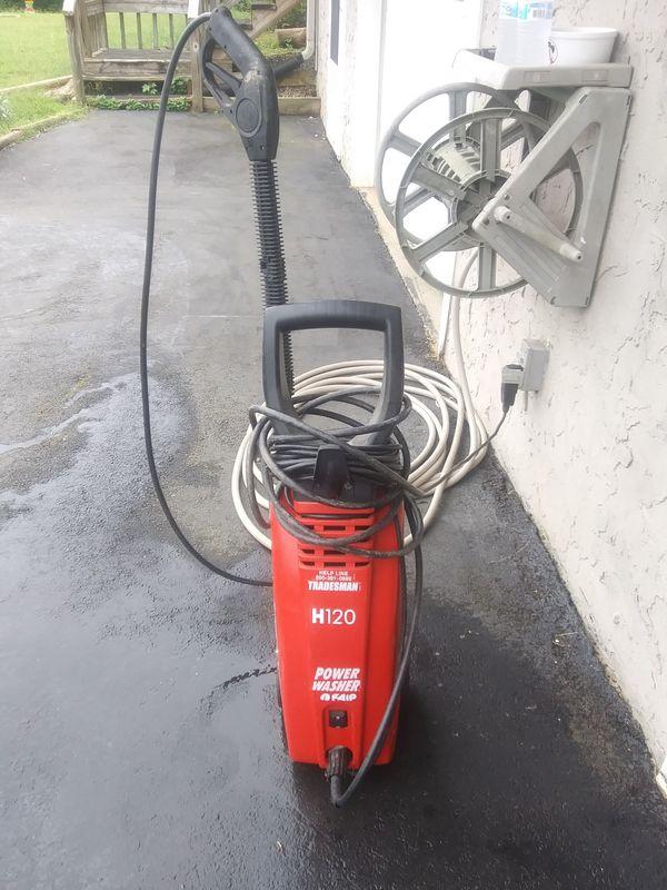 Tradesman 1500 Psi Electric Pressure Washer For Sale In Acworth GA OfferUp