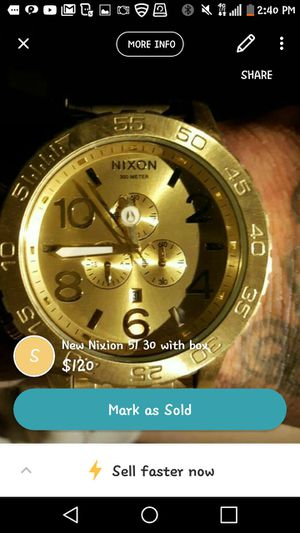 NIXION 51 30 gold for Sale in Los Angeles, CA