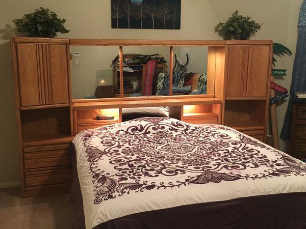 King Oak Headboard - Blackhawk Furniture for Sale in Little Elm, TX ...