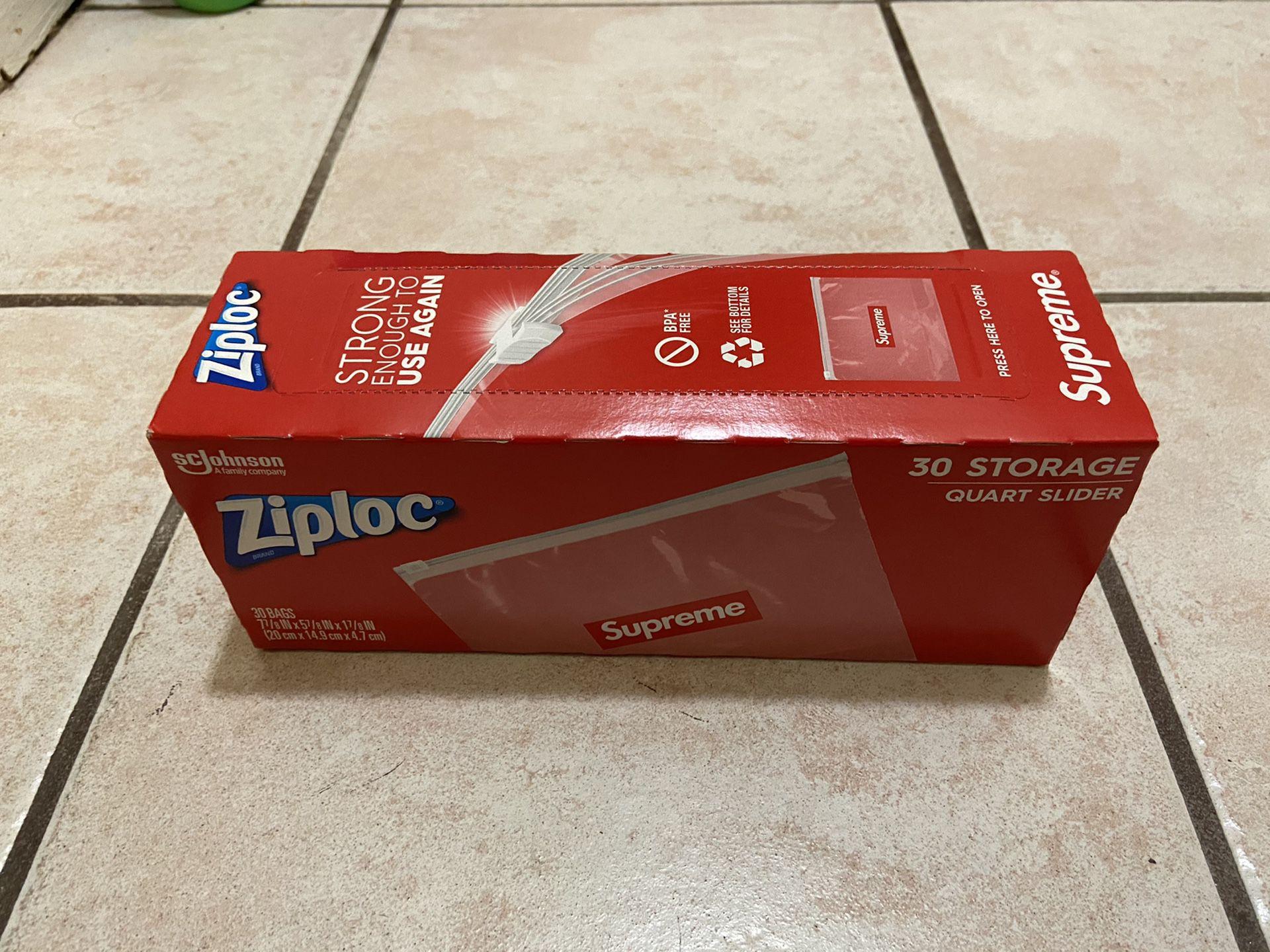 Supreme x ziplock