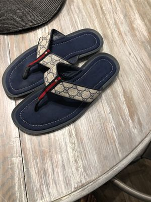 6b6d9fb5b9c2f1 Authentic Gucci Flip Flops Sz 11 for Sale in Lake Charles
