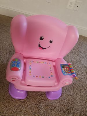 Fisher price laugh and learn chair for Sale in Catonsville, MD