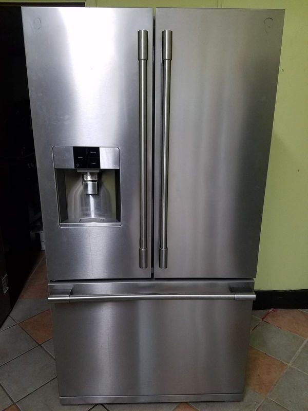 Frigidaire Refrigerator French Door Stainless Steel Appliances In