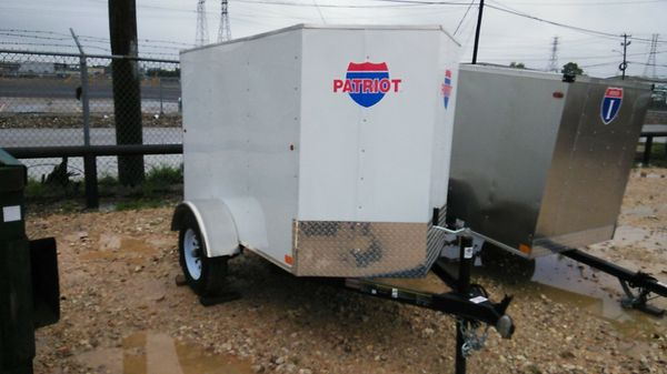 4x6 Enclosed Trailer >> New 4x6 Cargo Trailer For Sale In Houston Tx Offerup