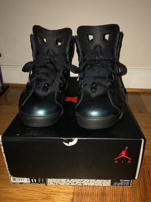 Air Jordan 6 chameleon size 11 for Sale in Manassas, VA