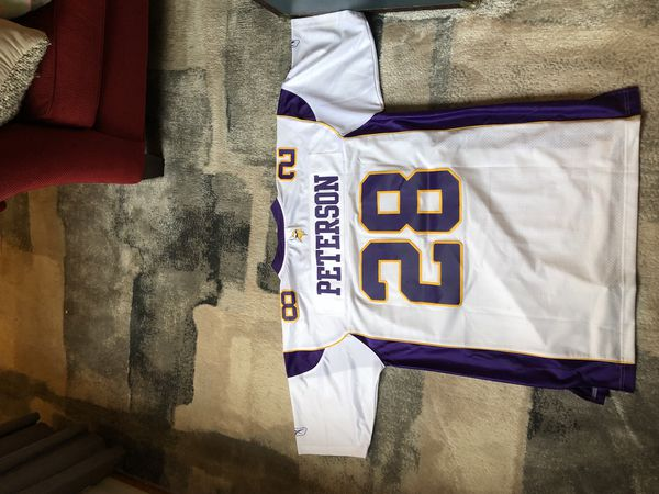 official photos bb8bd 382dc Authentic Reebok NFL Jersey XL Adrian Peterson- Minnesota Vikings for Sale  in Rochester, NY - OfferUp
