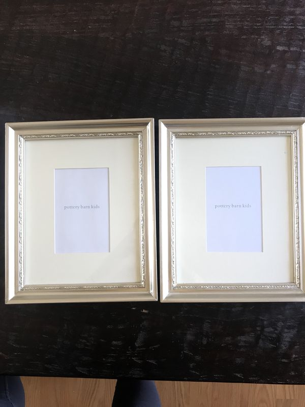 Pottery Barn Kids Silver finished frames. Brand new. for Sale in San ...
