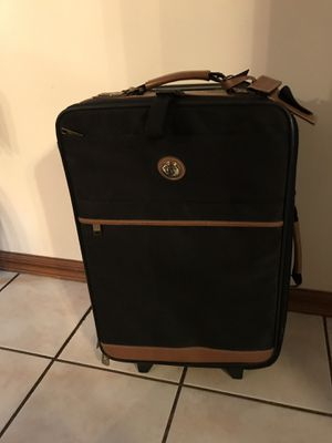 "Travelers Carry On Luggage 11"" H before handle & 14 1/4"" W before handle Like New Condition for Sale in Orange City, FL"
