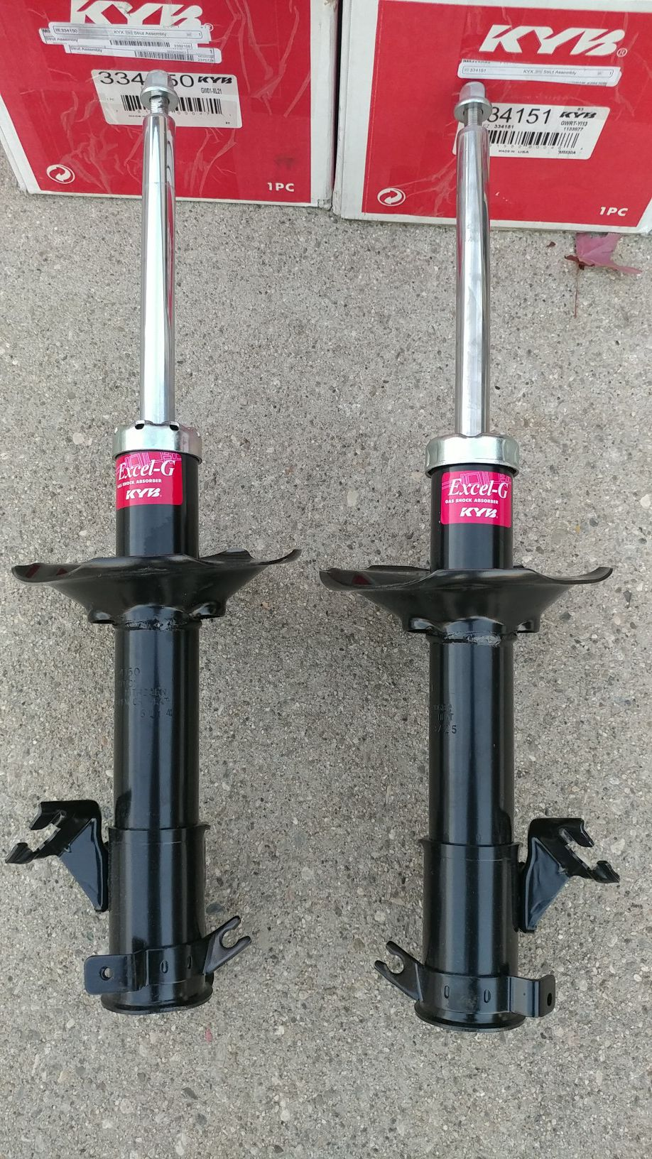 Nissan maxima KYB shocks/struts