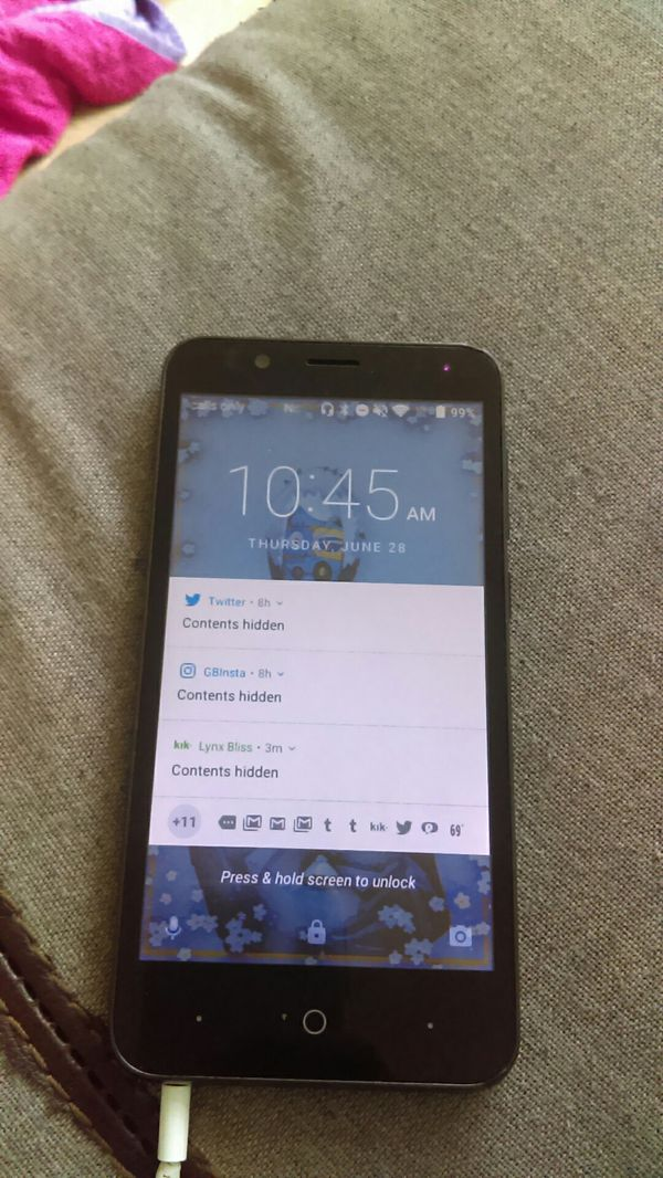 ZTE MODEL Z557BL for Sale in Cleveland, OH - OfferUp