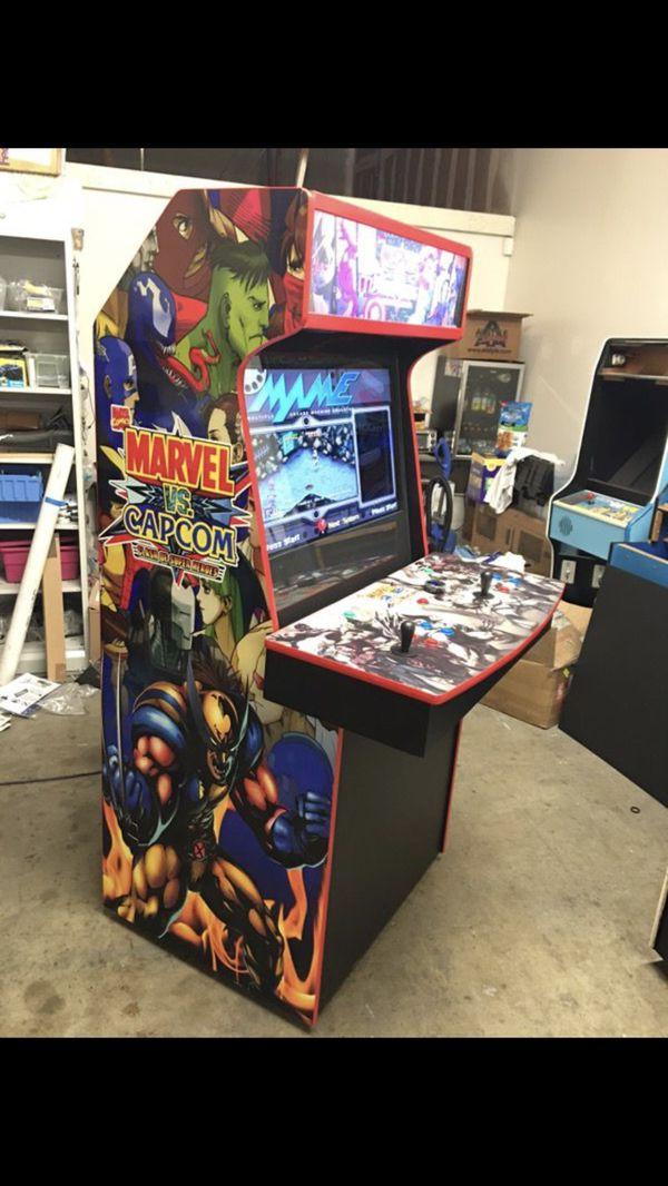 Arcade Marvel vs Capcom theme 32