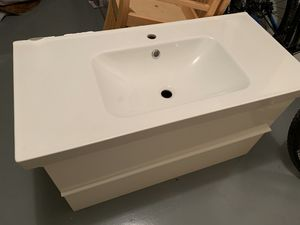 Photo IKEA sink and vanity!