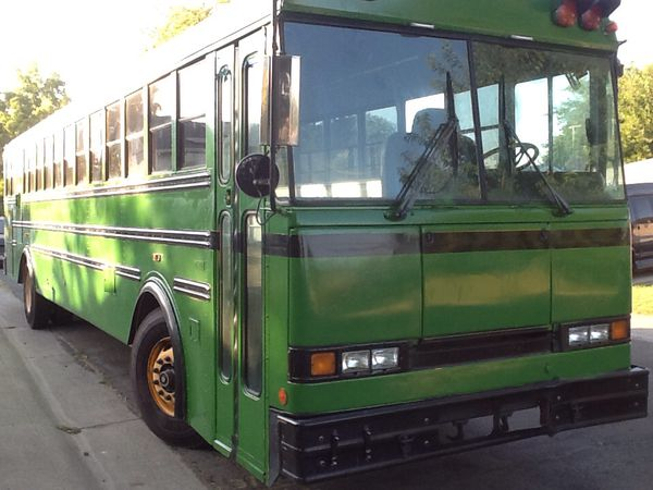 Buses converted to mobile homes for sale