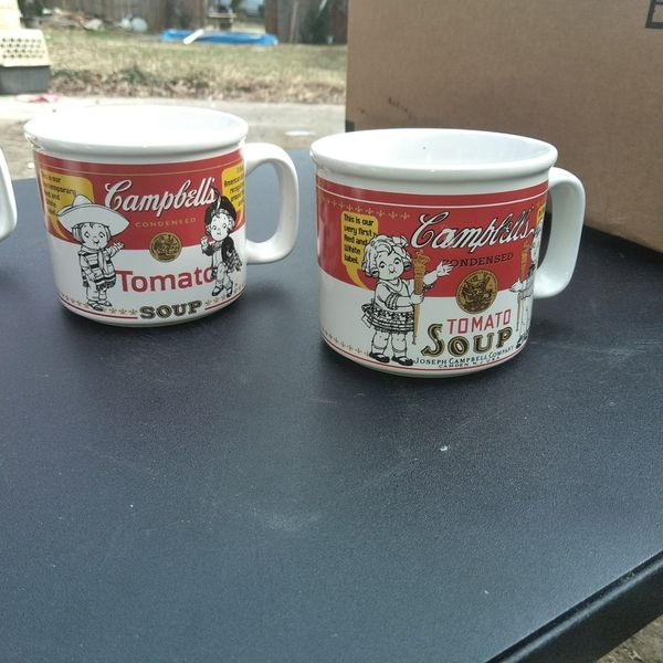 72da99e6619 Vintage Campbells Soup Mugs for Sale in High Point, NC - OfferUp