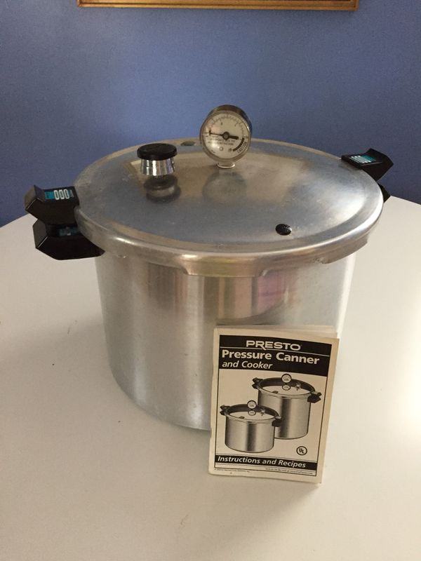 Presto Pressure Cooker And Canner For Sale In Silver Spring Md