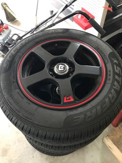 BRAND NEW rims and tires Thumbnail