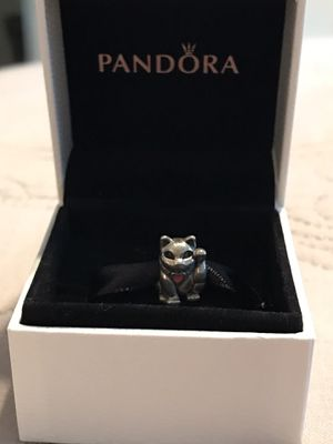 Authentic Pandora Lucky Cat Charm for Sale in Dallas, TX