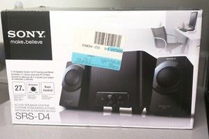 SONY SRS-D4 Active Speaker System w/ Subwoofer 2.1ch Desktop Computer PC Gaming Speakers for Sale in Weymouth, MA