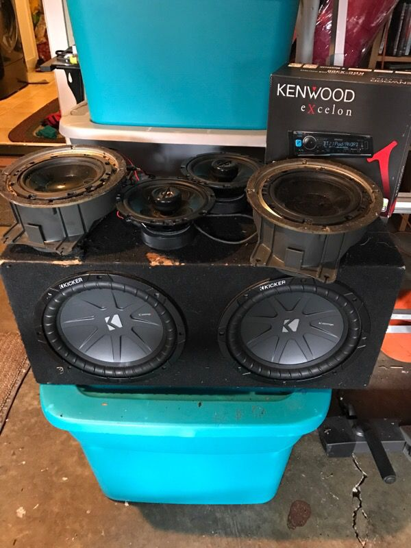 Full Car Audio Setup subwoofer, speakers, audio deck for Sale in Tigard, OR  - OfferUp