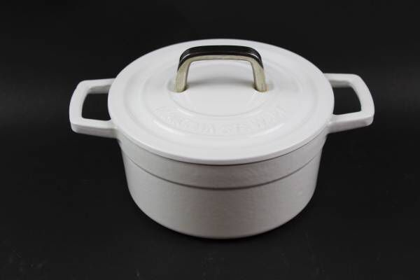 White martha stewart collectors enameled cast iron 2 qt dutch oven white martha stewart collectors enameled cast iron 2 qt dutch oven for sale in new port richey fl offerup aloadofball Gallery