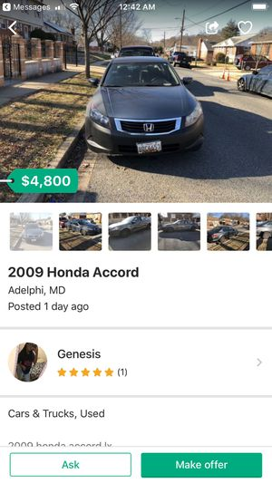 2009 Honda Accord for Sale in Hyattsville, MD