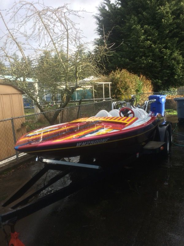 Flat bottom jet boat for Sale in Tacoma, WA - OfferUp