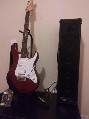 Yamaha Pacifica Guitar & Powerwerks PW100T Amplifier for Sale in Castle Rock, WA