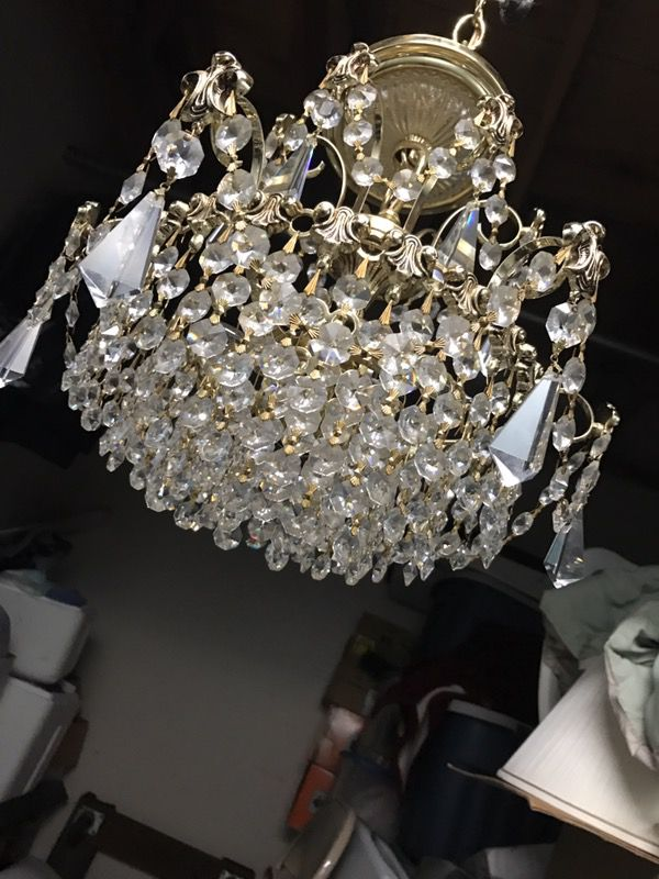 Schonbek crystal chandelier household in concord ca offerup mozeypictures Images