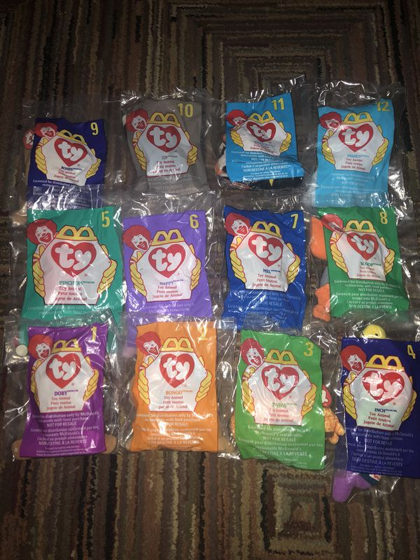 TY McDonald s beanie babies 1998 collection for Sale in Salida 463dd991b34
