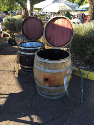 Wine Barrel Storage And Ice Chests For Sale In Phoenix Az Offerup