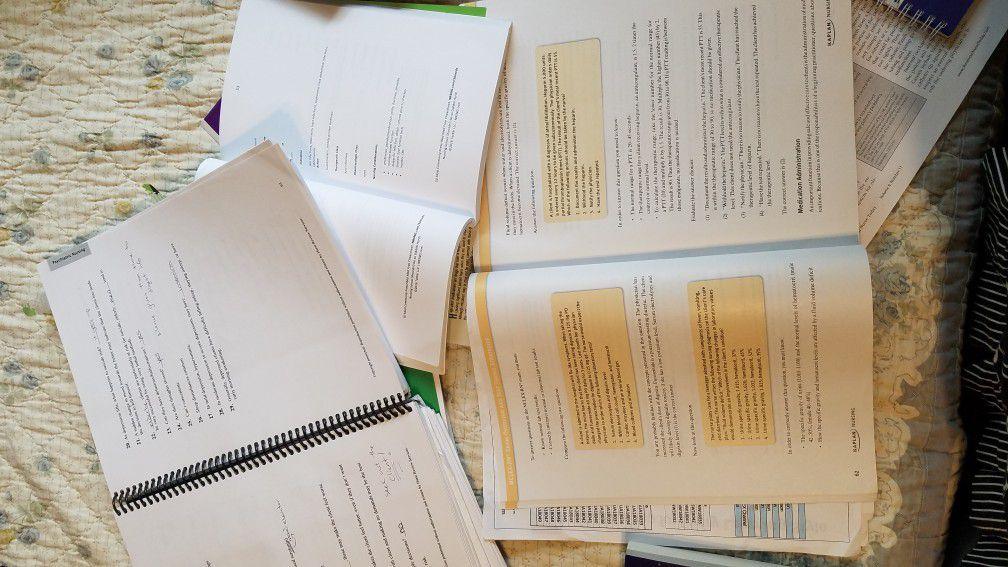 NCLEX-RN Study/Review set