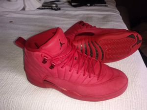 "e95f10bd62b Air Jordan retro 12 ""gym red US size 10 for Sale in Clearwater, FL"