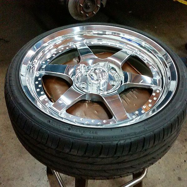 Centerline Billet Wheels 20x8.5 5x4.75 S10 Sonoma Hotrod