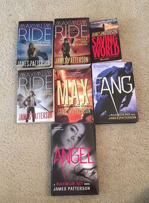 Maximum Ride Book Series for Sale in Manassas, VA
