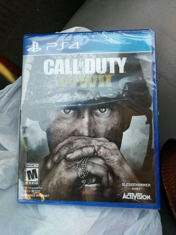 PS4 Call of Duty WWII New Game still in pkg for Sale in Simpsonville, SC -  OfferUp