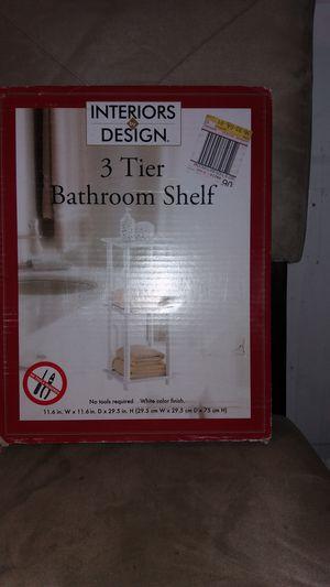3 Tier Bathroom Shelf/Organizer for Sale in St. Louis, MO